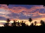 north borneo sunset